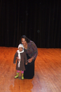 Dr. Sharon Brown Cheston and great-niece