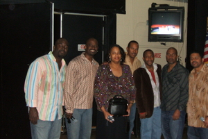 Dr. Sharon Brown Cheston and Take 6