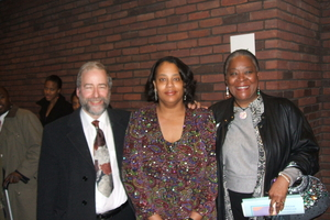 Prof. R. Mayerovitch, Dr. S. B. Cheston and Ms. E. Mescudi
